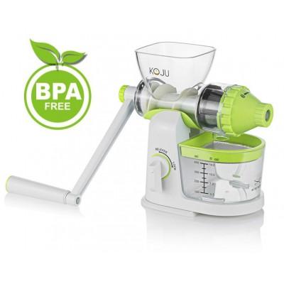 Ręczna wyciskarka Soku KOJU BPA free