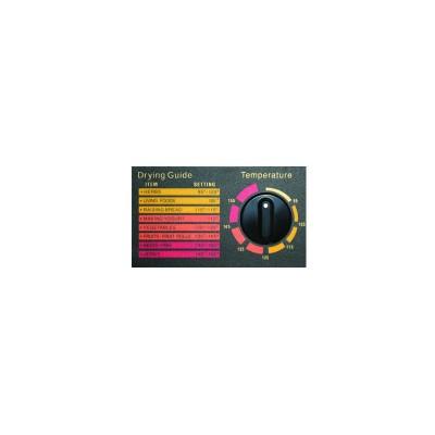 Suszarka żywności Excalibur - 9 tac z minutnikiem - czarna